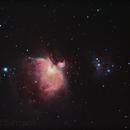 M42 - Nebuleuse d'Orion,                                Ludovic