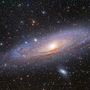 Andromeda Galaxy Mosaic,                                Adam Landefeld