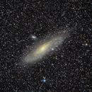 Andromeda galaxy wide field,                                DustSpeakers