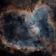 IC1805 Heart Nebula,                                Rich