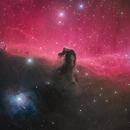 Horse Head Nebula in LRGB and Ha,                                Peter Shah