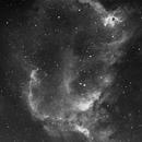 IC1848 H-alpha,                                Gerhard Henning