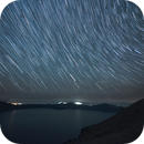 Star Trails over Crater Lake,                                Mark Striebeck