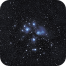 M45 – First Good Photoshop but you can be the judge,                                Van H. McComas