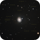 M77, with an Active Galactic Nucleus (AGN) Seyfert type II galaxy, unguided.,                                Juan Pablo (Obser...