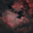 North America and Pelican Nebulae in HOO,                                jeff2011