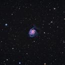 M101  Pinwheel Galaxy,                                Camarone