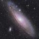 M31 Andromeda Galaxy RGB,                                Rajeev