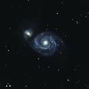 M51 - The Whirlpool-Galaxy,                                Mattes