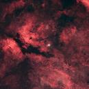 The Butterfly Nebula in Cygnus,                                aukropov