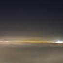 Foggy night over city,                                Alan Ćatović