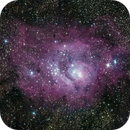 The Lagoon Nebula (M 8),                                Alex Roberts
