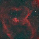 IC 1805 Heart Nebula-IC 1795 Fishhead Nebula-HA-HOO-Meade triplet-ASI 1600 MM-Pro,                                Adel Kildeev