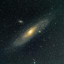 NGC224 (M31) - NGC221 (M32) - NGC205 (M110) - NGC206,                                Harold Freckhaus