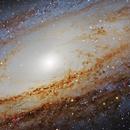 M31_LRGB  Mosaic 4 fields,                                Robert Novotný