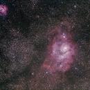 M8 /M20 Lagunen/Trifidnebel,                                Thomas Schnur