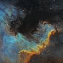 North America Nebula, 24 hours of SHO,                                raguramm