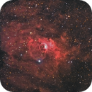 The Bubble Nebula,                                Mike Kline