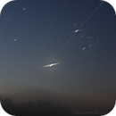 Transit of ISS (almost...) in front of Jupiter - Wide field,                                antares2500