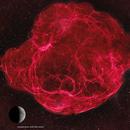 Supernova Remnant Simeis 147 - 2 panel mosaic,                                equinoxx