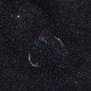 Veil Nebula in Cygnus constellation,                                Cyril NOGER