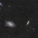Supernova in M82,                                Tromat