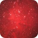 IC1805, The heart of the Heart Nebula,                                Oscar Meca