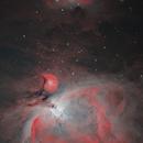 Great Orion nebula,                                Mirko M