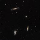 Leo's Triplet (M65, M66 and NGC 3628) in LRGB,                                Eshan Toorabally