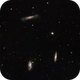 Leo's Triplet (M65, M66 and NGC 3628) in LRGB,                                Eshan Toorabally