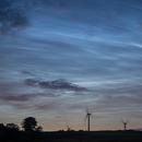 Noctilucent clouds,                                Neal Weston