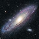 M31 - Andromeda Galaxy,                                Peter Clevestig
