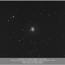 Messier 77 and SN 2018 ivc, 20181130,                                Geert Vandenbulcke