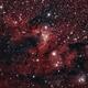 Cave nebula,                                hydrofluoric