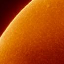 Surface of the sun - First Attempt,                                Stefan Rehder