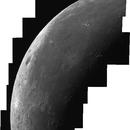 Panorama lunar (menguante) 11/JUL/2015,                                Chepar