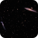 The Whale and Hockey Stick Galaxies (NGC 4631 and NGC4656),                                Terri