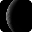 A fine crescent of the Moon on 27.08.19.(and the Star Wasat),                                Vlaams59