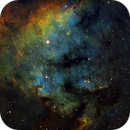 NGC7822 in HST palette,                                Gordon Haynes