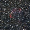 Crescent nebula,                                Rudolf Bumm