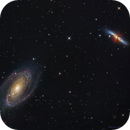 M81 & m82 (under  full moon),                                Caroline Berger