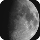 Gibbous Moon (two pane mosaic),                                Lee B