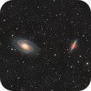 M81 and M82,                                  Tristan Campbell