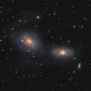 NGC 3169, NGC 3166 and NGC 3165,                                Boris US5WU