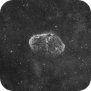 Crescent Nebula NGC 6888 Ha 3.5nm,                                Luca Fornaciari
