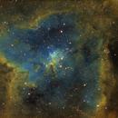IC1805 The Heart nebula,                                Komet
