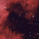 NGC7000 details in HOO,                                christian.hennes
