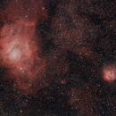M8 Lagoon and M20 Trifid,                                Joe Alexander