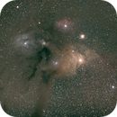 Dark river leading to Antares,                                tringuede