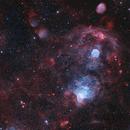 Emission Nebula In SMC (HOO),                                astro_m